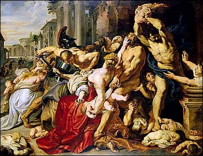 The Massacre of the Innocents by Rubens